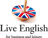 Live English logotype